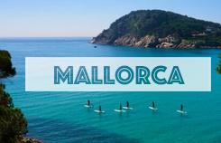 Hacer Paddle Surf en Mallorca