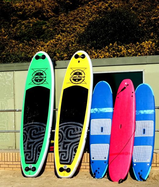 diferencias tablas paddle surf